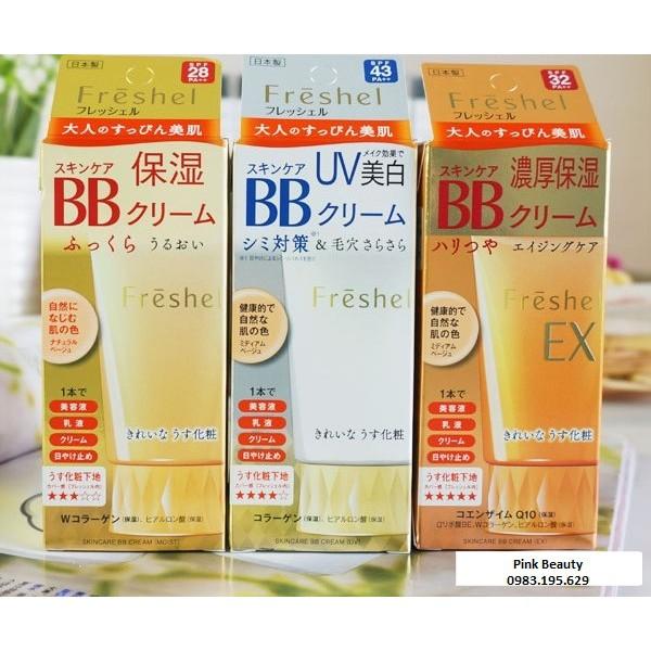 Kem trang điểm BB Cream Fresshel Kanebo 5 in 1 - nội địa