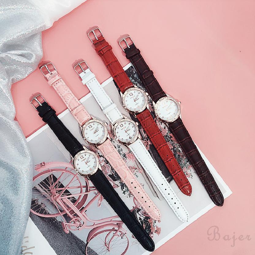 COD√ ผู้หญิงนาฬิกาแฟชั่นนาฬิกาดิจิตอลเกาหลีควอตซ์สายตรงที่เรียบง่าย 358