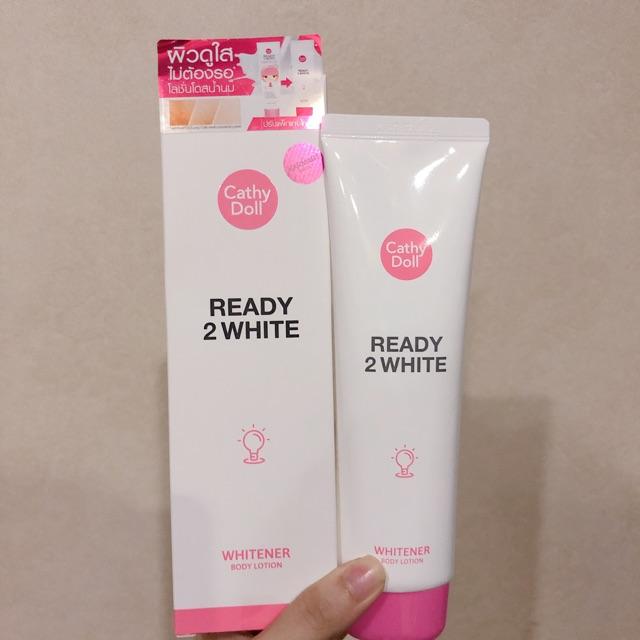 ( Co Bill) Kem dưỡng trắng body Cathy Doll Ready 2 White