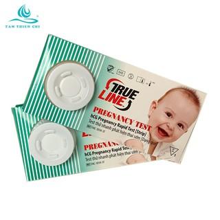 Que thử thai kết quả chính xác TRUELINE 2 hộp x 1 test TTC