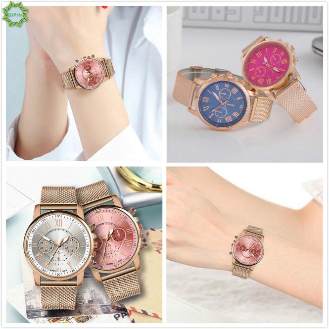 Đồng hồ đeo tay nhiều màu sắc sang trọng hợp thời trang cho nữ