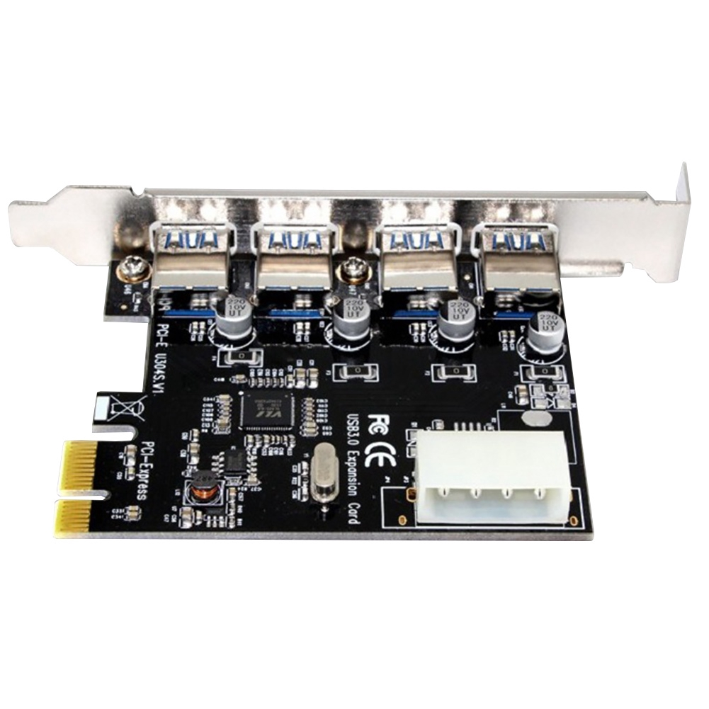 4 Ports Components Professional Add On For Desktop Super Fast Power Expansion Card Stable Internal PCI E To USB 3.0 Giá chỉ 134.000₫