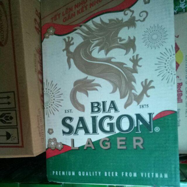 Thùng bia Sài Gòn Lager Tết 24 lon