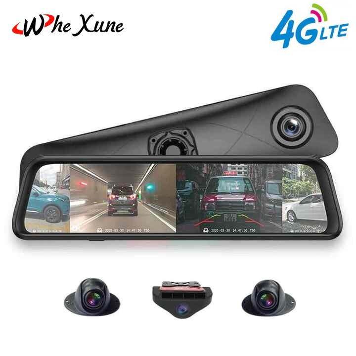Camera hành trình 360 độ gắn gương ô tô, thương hiệu cao cấp Whexune - K960