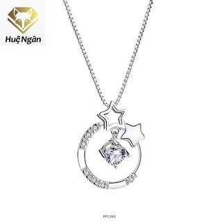 Dây chuyền bạc 925 Huệ Ngân - Ngôi sao may mắn PP1265