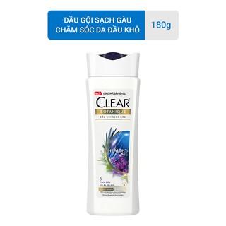 [HB GIFT] Clear Botanique 5 Tinh Dầu Dầu Gội Sạch Gàu 180g