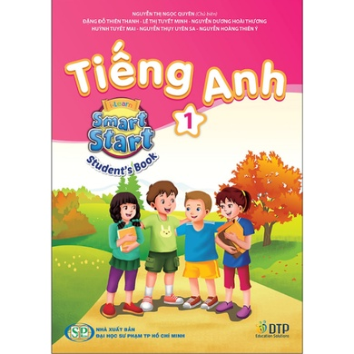 Sách - Tiếng Anh - I-Learn - Smart Start - Student's Book - Lớp 1