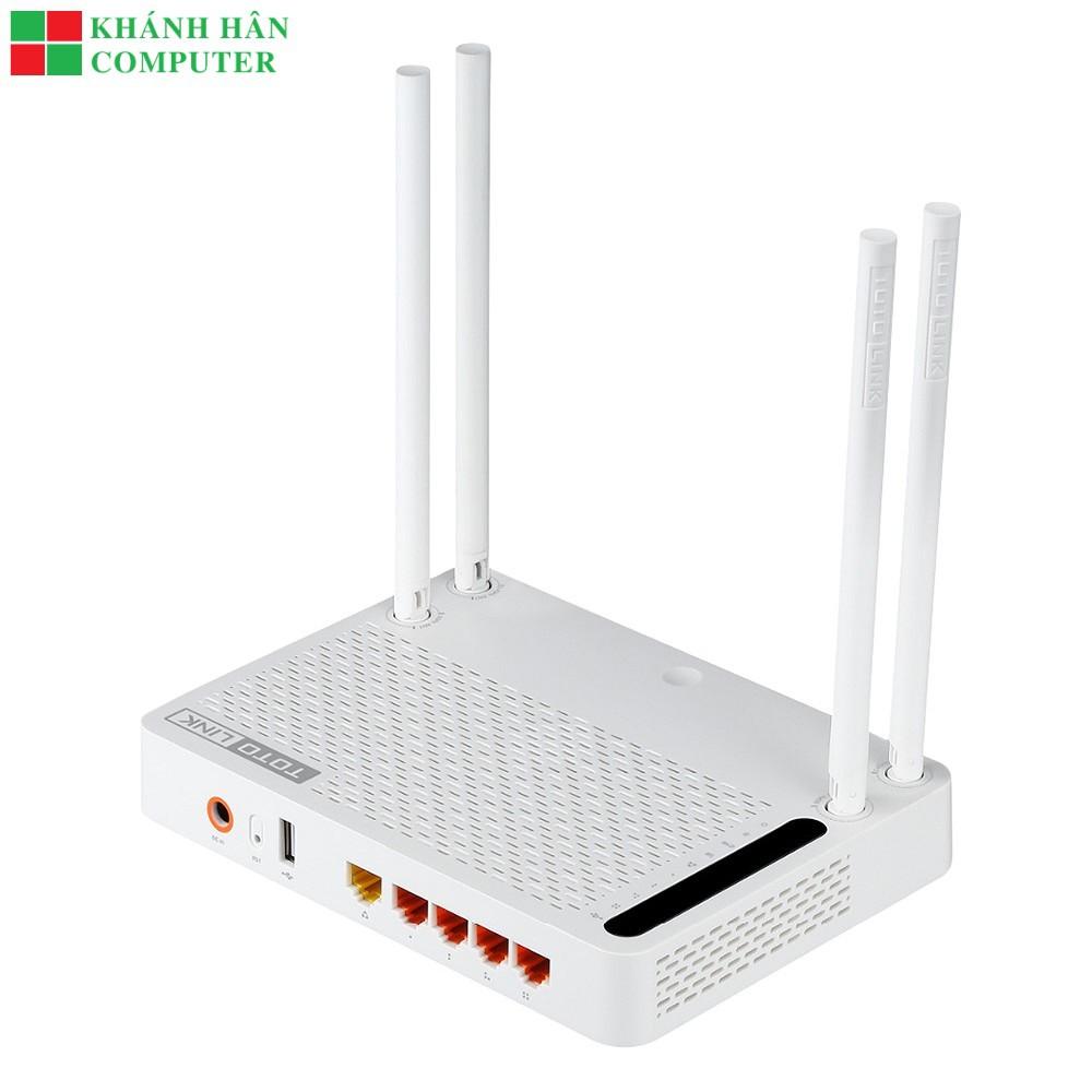 Bộ Phát Wifi TotoLink A3002RU - Bảo hành chính hãng 24 tháng