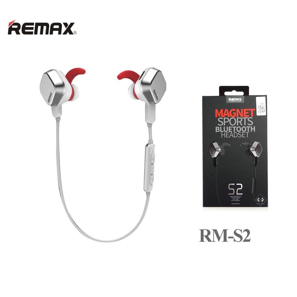 [Mã 267ELSALE hoàn 7% đơn 300K] Tai Nghe Bluetooth Thể thao Remax RB-S2