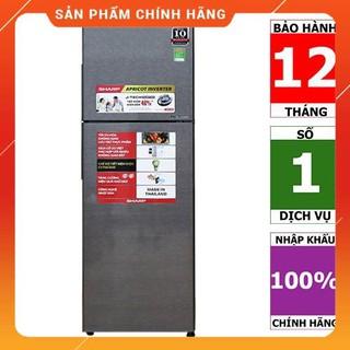 [BMART] SJ-X281E-SL | SJ-X281E-DS | Tủ lạnh Sharp Inverter 271 lít (Hàng chính hãng, bảo hành 12 tháng)