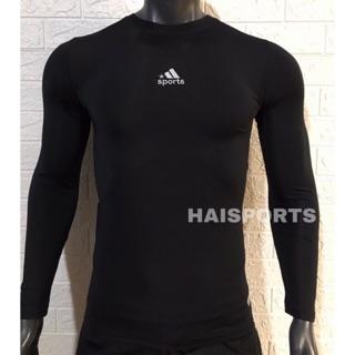 Áo giữ nhiệt dài tay body - Thun dài tay body bóng đá co giãn 4 chiều thumbnail