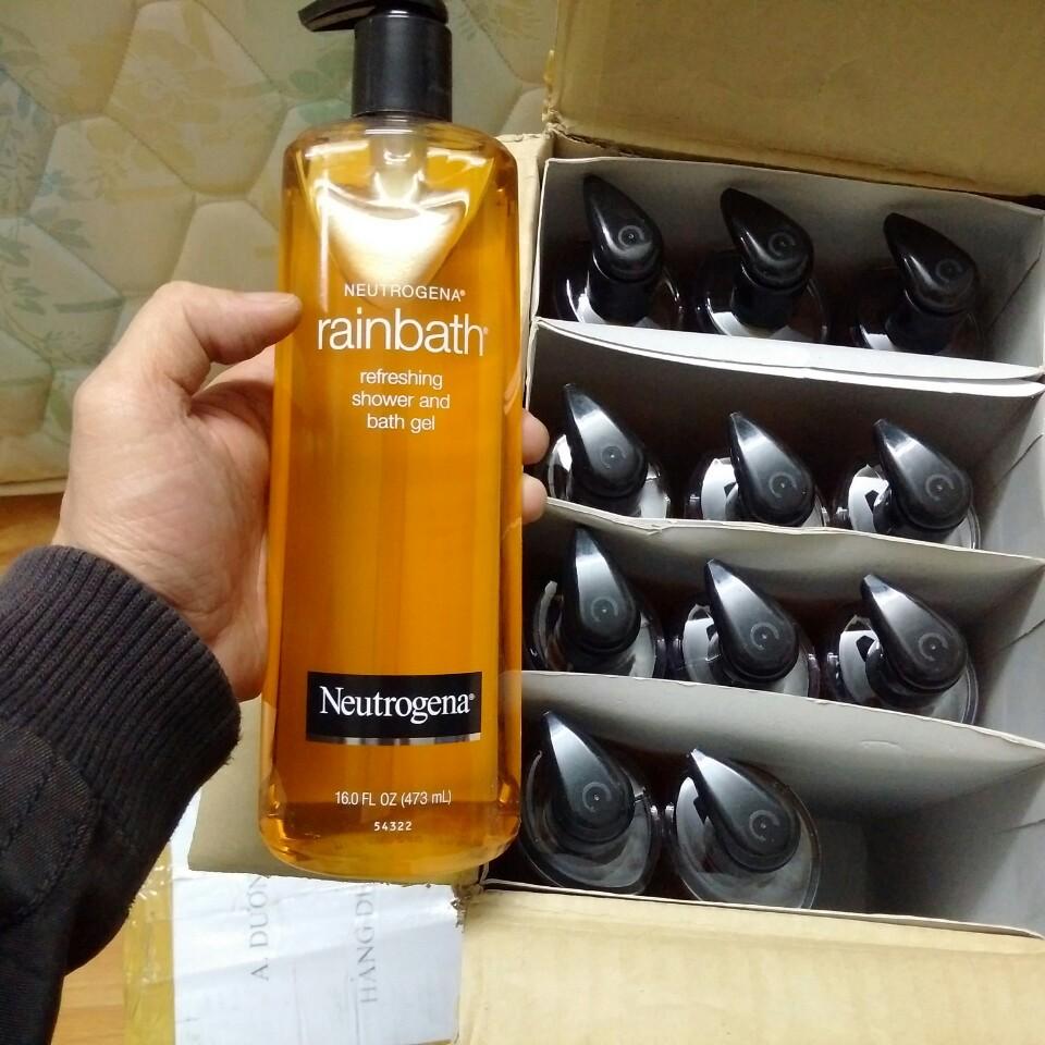 Sữa Tắm Dưỡng Ẩm Neutrogena Rainbath 473ml Của Mỹ