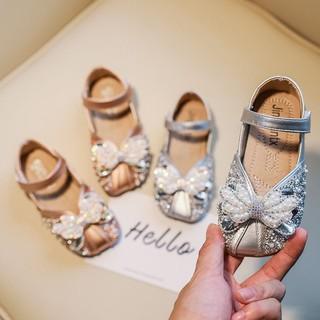 Giày búp bê công chúa cánh tiên đính kim sa lấp lánh,Giày Búp Bê Bé Gái Siêu Mềm Phong Cách Hàn Quốc thumbnail
