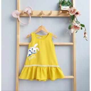 Váy Bé Gái ❤️ FreeShip ❤️ Vải tơ đũi nhập mềm mát cho bé 10-25kg