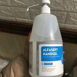 [1 lít] Dung dịch rửa tay sát khuẩn nhanh Alfasept thumbnail