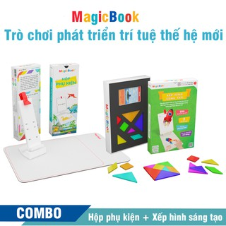 Trọn bộ xếp hình sáng tạo – Trò chơi phát triển trí tuệ trẻ em – Magicbook – Size S Box