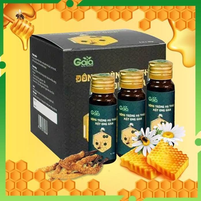 Đông trùng hạ thảo mật ong Gaia - Bổ thận tráng dương, bồi bổ cơ thể, bổ phế, giảm lão hóa.