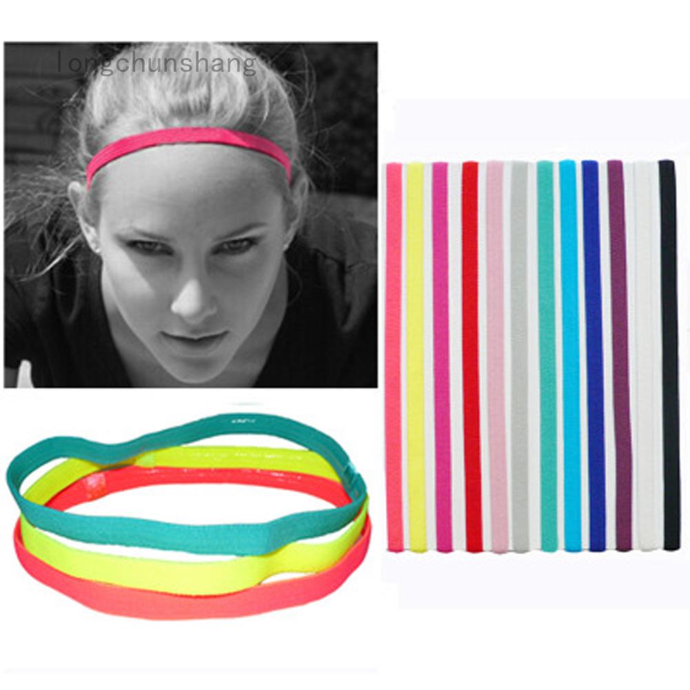 Băng đô thể thao co giãn tốt chống trượt với nhiều màu sắc đa dạng