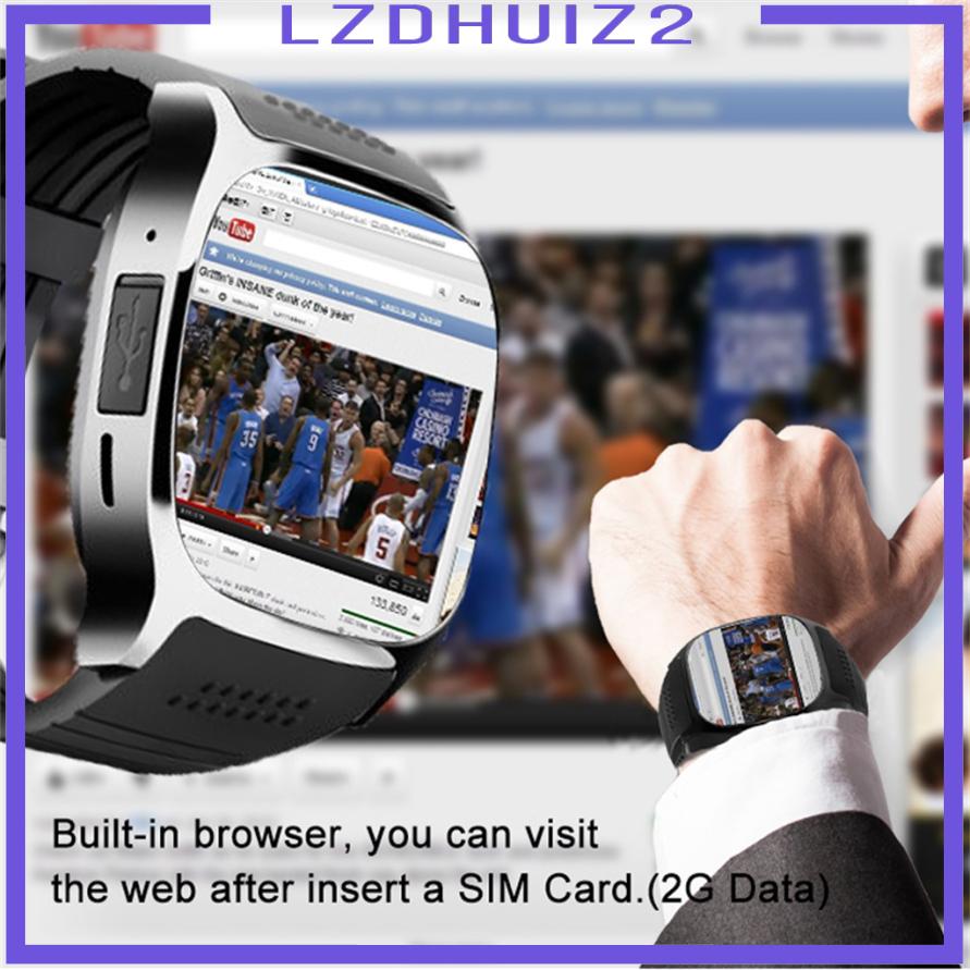 Đồng Hồ Thông Minh Kết Nối Bluetooth Hỗ Trợ Sim Và Thẻ Nhớ Tf