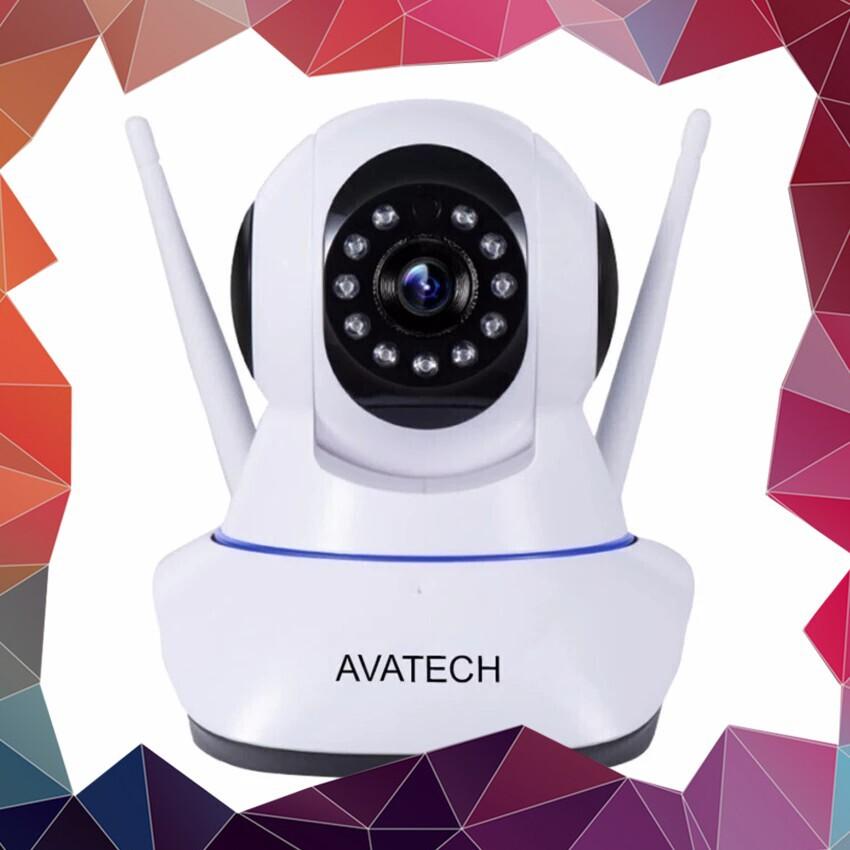 (Hót Hòn Họt) Camera IP giám sát và báo động chính hãng AVATECH 6300C 1080P 2.0 (Trắng)