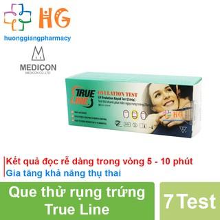 Que thử rụng trứng True Line - Kết quả đọc rễ dàng trong vòng 5 - 10 phút, Gia tăng khả năng thụ thai (Hộp 7 Test) thumbnail