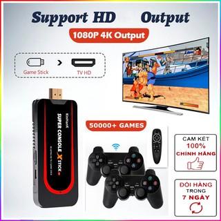 Vũ Trụ Game 50.000 Trò Máy Chơi Game Console X Stick hỗ trợ Android TV Box HDMI Hỗ trợ chơi PSP N64 DC PS1 thumbnail