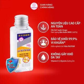 Nước rửa tay khô AVATAR diệt khuẩn - Diệt khuẩn tối đa - có chứng nhận Y tế từ PASTEUR 40ml thumbnail