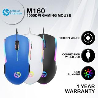 Chuột Gaming Hp M160-1000DPI RGB có dây thumbnail