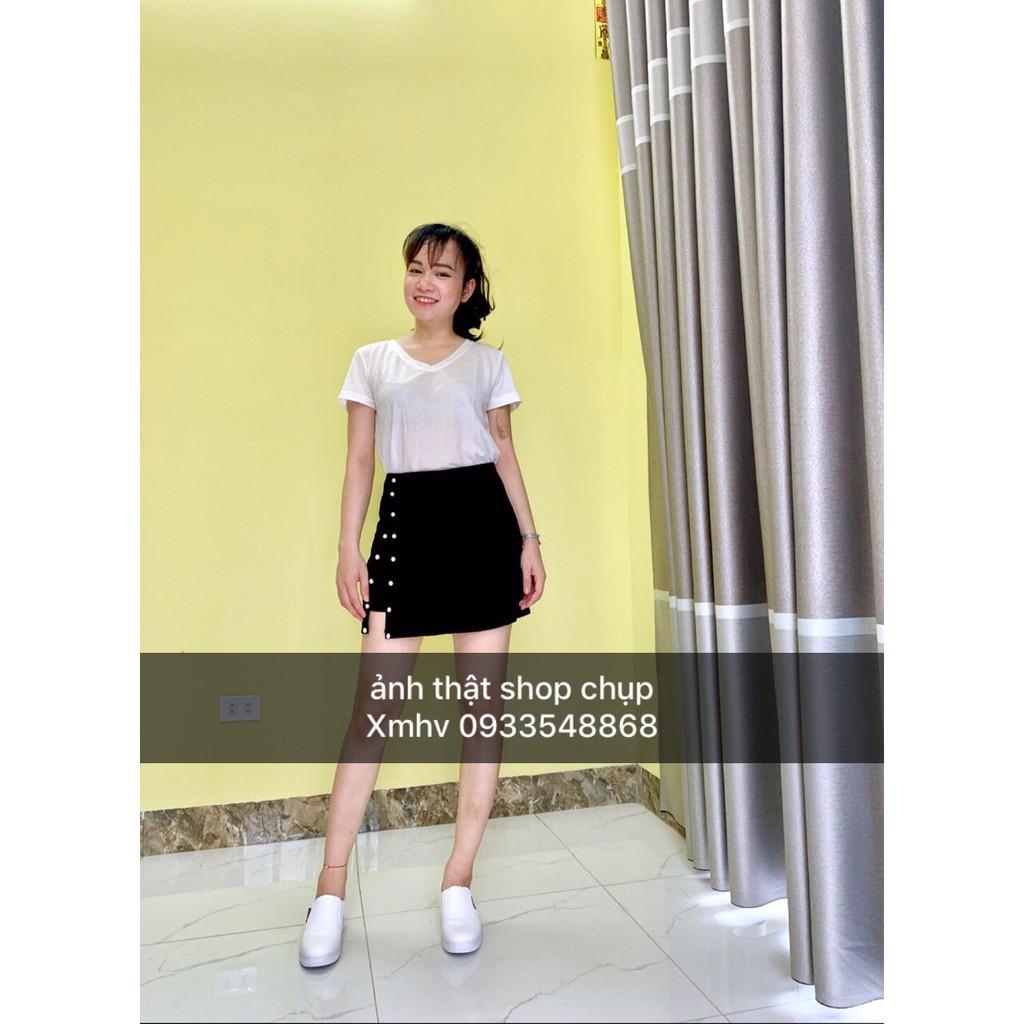 Chân Váy Đính Ngọc❤Freeship❤Chân Váy Sẻ Cao Cấp, Kèm quần