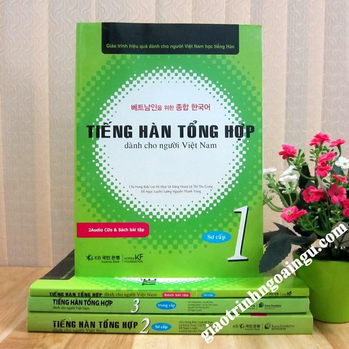 Sách Tiếng Hàn tổng hợp Sơ cấp 1 Sách Bài học - Kèm CD