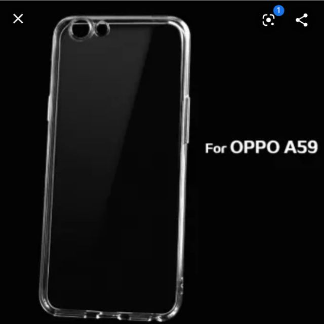 ốp lưng oppo F1s/A59 dẻo silicon trong suốt siêu mỏng