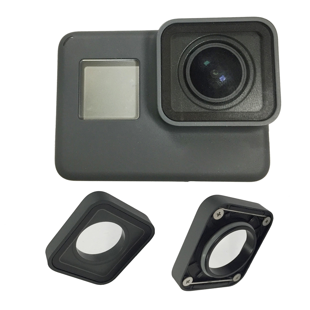 Protective Camera Lens Cover Glass Replacement Part for GoPro Hero 5/6 Black