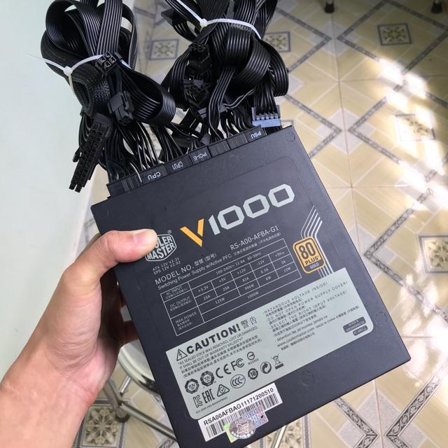 Nguồn Cooler Master V1000 80Plus Gold Full Modular Giá chỉ 1.500.000₫