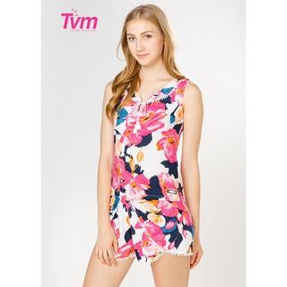 Đồ mặc nhà Bộ ngắn ren bi Tvm Luxury Homewear B447 thumbnail