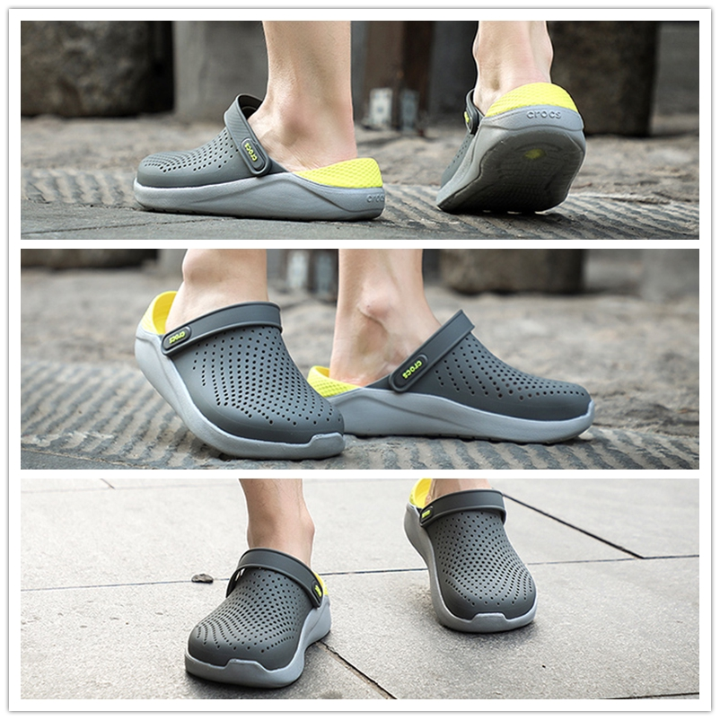 babybabygo.th Crocs LiteRideรองเท้าแตะชายหาดสำหรับผู้ชายและผู้หญิง