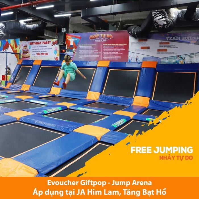 [Evoucher] Vé Jump Arena 60' cuối tuần, ngày lễ tết (áp dụng tại JA Him Lam, JA Tăng Bạt Hổ)