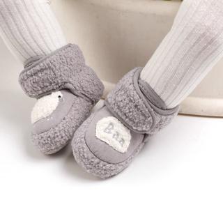Giày Vải Nhung Hình Trái Tim Cho Bé thumbnail
