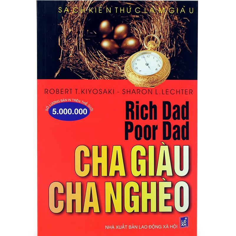 Sách - Kiến Thức Làm Giàu - Cha Giàu, Cha Nghèo