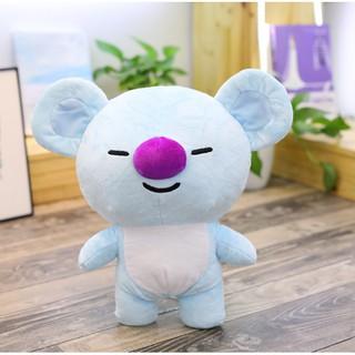 Gấu bông mini koya BT21- BTS (xanh dương)