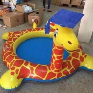 Bể bơi phao hươu cao cổ Abbott