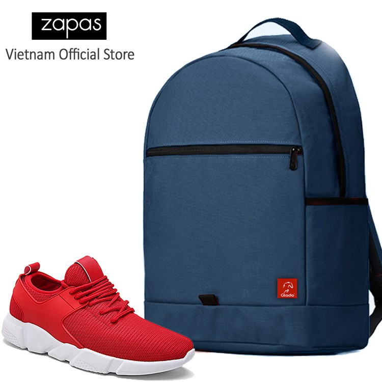 Combo Balo Du Lịch Glado Classical BLL006 (Xanh Dương) Và Giày Sneaker Thể Thao Zapas GS080 (Đỏ) - 9923694 , 533970362 , 322_533970362 , 630000 , Combo-Balo-Du-Lich-Glado-Classical-BLL006-Xanh-Duong-Va-Giay-Sneaker-The-Thao-Zapas-GS080-Do-322_533970362 , shopee.vn , Combo Balo Du Lịch Glado Classical BLL006 (Xanh Dương) Và Giày Sneaker Thể Thao Z
