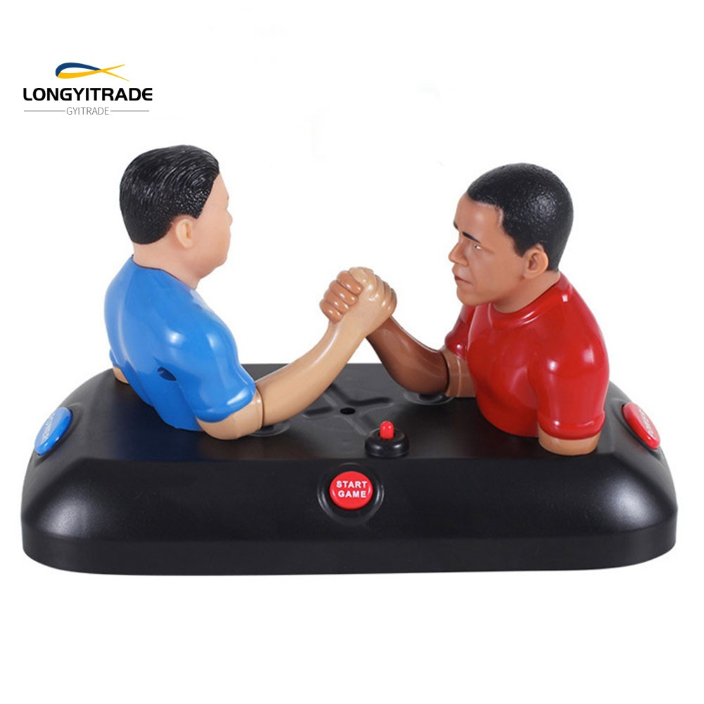 Arm Wrestling Board Table Game Sound Compact  Kid Toy