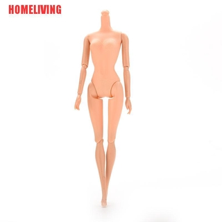 [HOMELIVING]1 Pcs Joint Nude Naked Female Ferritic for Barbie Doll without Head 10.24