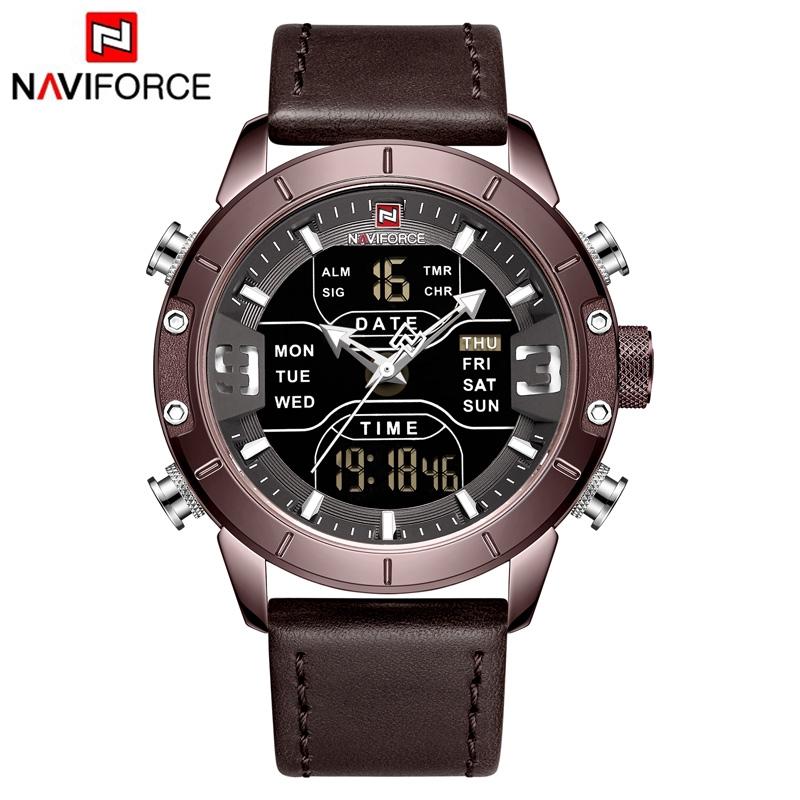 Đồng Hồ NAVIFORCE NF-9153L Phong Cách Thể Thao Thời Trang Cho Nam
