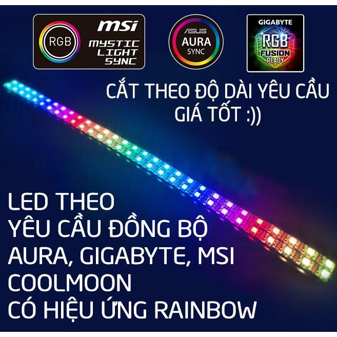LED ĐỒNG BỘ AURA, GIGABYTE, MSI COOLMOON CÓ HIỆU ỨNG RAINBOW