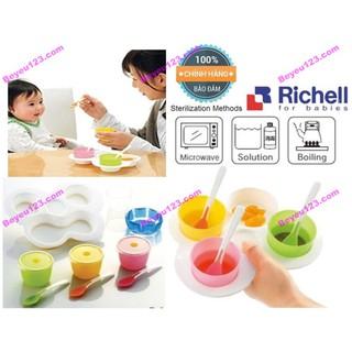 Bộ ăn dặm khởi đầu cho bé Richell (Nhật) (Chính hãng công ty Ánh Dương)