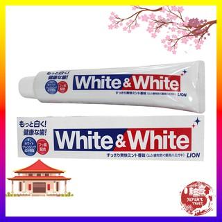 Kem đánh răng White and White Lion 150g Nhật Bản – Dành cho nướu nhạy cảm – Giá tốt – Hàng chính hãng