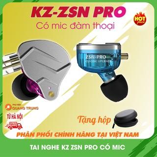 Tai nghe kz zsn pro,có mic đàm thoại,bản nâng cấp đáng giá thumbnail