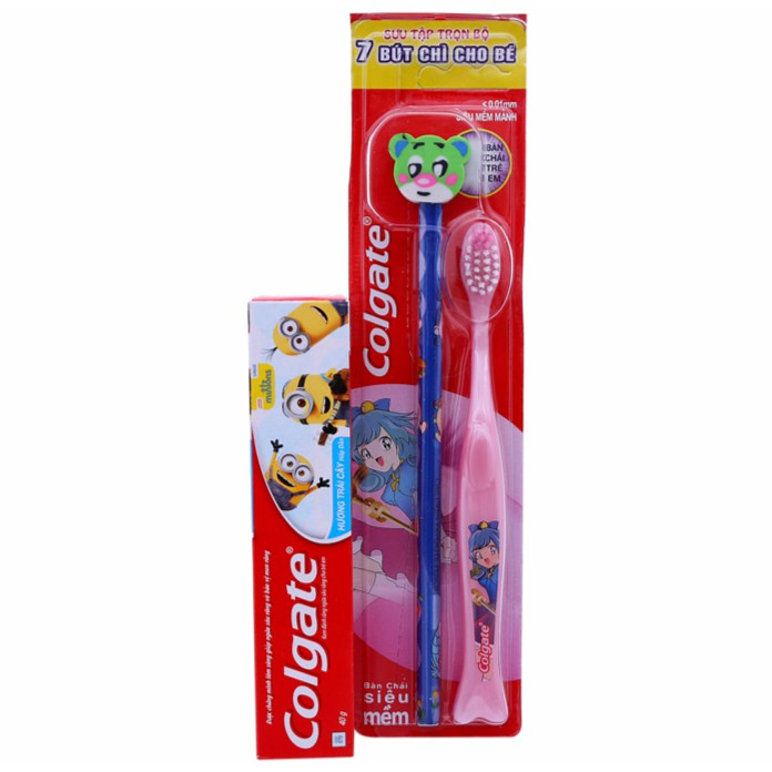 Bộ bàn chải và kem đánh răng cho bé Colgate Minion (từ 5 tuổi trở lên) - 10080202 , 416566374 , 322_416566374 , 15000 , Bo-ban-chai-va-kem-danh-rang-cho-be-Colgate-Minion-tu-5-tuoi-tro-len-322_416566374 , shopee.vn , Bộ bàn chải và kem đánh răng cho bé Colgate Minion (từ 5 tuổi trở lên)
