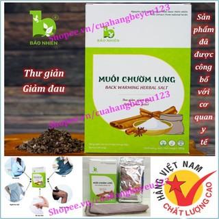 [850gr] Muối chườm lưng giúp giảm mỡ, giảm eo, thư giãn và giảm đau nhức cho Mẹ sau sinh - Bảo Nhiên (Việt Nam) thumbnail